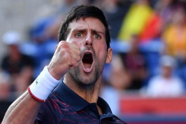 """Djokovic houdt Goffin uit finale: """"Dit was een uitstekende test voor mij"""""""