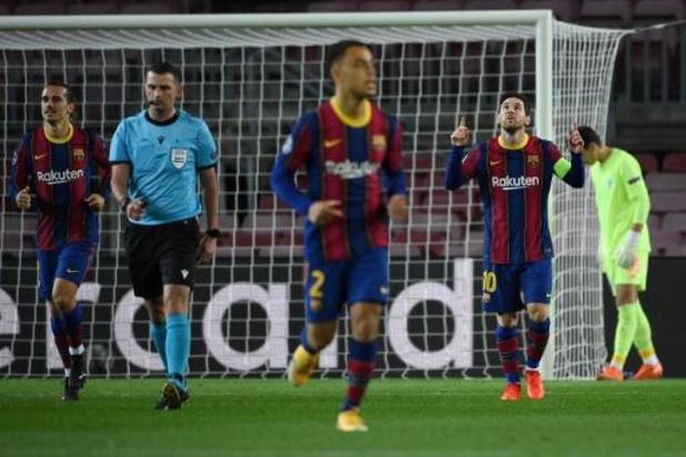 Champions League - Barcelona en Juventus boeken overwinning, PSG gaat onderuit