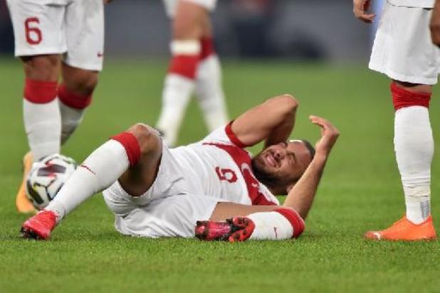 Gravement blessé au genou, Cenk Tosun forfait avec la Turquie