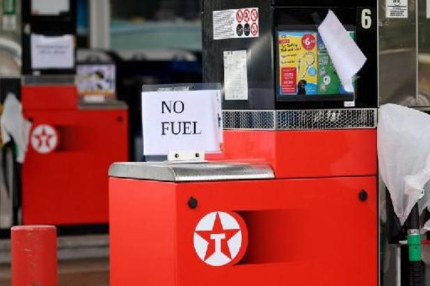 Pénurie de carburants au Royaume-Uni: l'armée déployée dès lundi