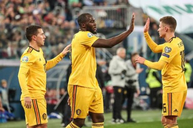 België topt voor elfde keer op rij FIFA-ranking