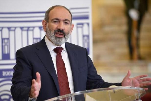 Nikol Pasjinjan opnieuw benoemd tot Armeense premier