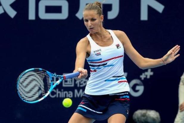 Karolina Pliskova triomfeert in Zhengzhou na zege tegen Kroatische Martic