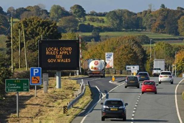 GB: Wales gaat twee weken in lockdown