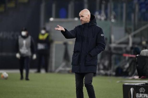 Erik ten Hag prolonge comme entraîneur de l'Ajax jusqu'en 2023
