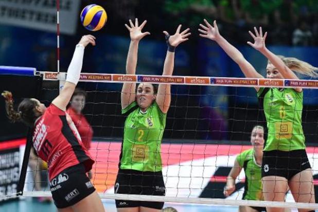 Coupe de Belgique de volley (d) - Tchalou sort Ostende, tenant du titre, et rejoint le dernier carré