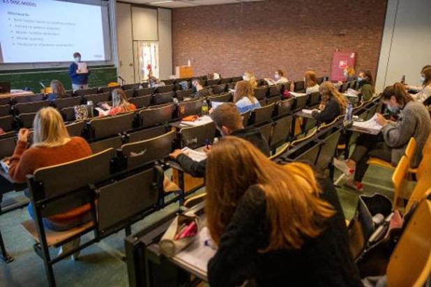 Hogeschool Odisee schakelt over naar code rood vanaf 9 november