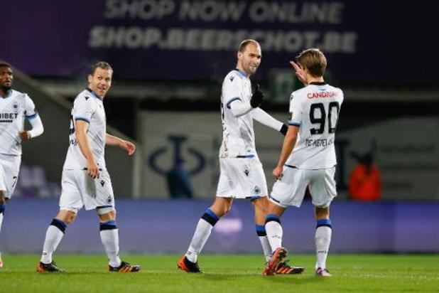 Jupiler Pro League - Club Brugge loopt 7 punten uit op Genk na zege tegen Beerschot