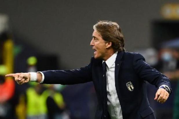 """Rode Duivels - Mancini tevreden met derde stek Nations League: """"Hebben hier 2 goeie wedstrijden gespeeld"""""""