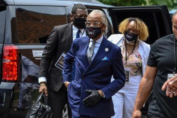 Violences policières contre les Afro-Américains - La cérémonie d'hommage à George Floyd observe 8 minutes 46 de silence