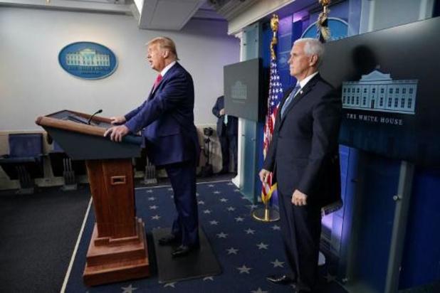 Amerikaans ministerie zet foute einddatum ambtstermijn Trump op website