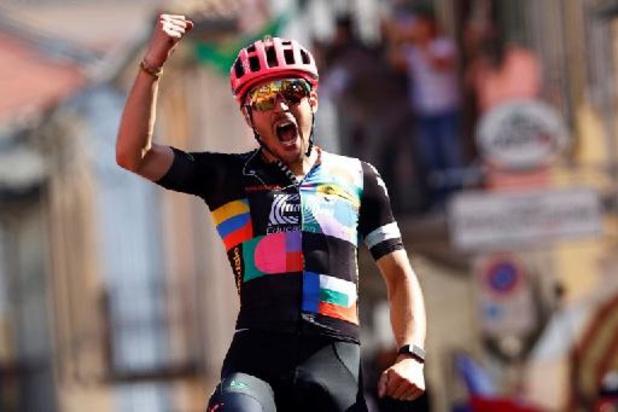 Bettiol pakt solo de zege in langste Giro-etappe