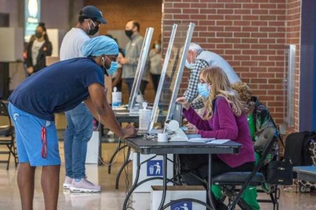 Al meer dan 21 miljoen Amerikaanse kiezers hebben hun stem uitgebracht