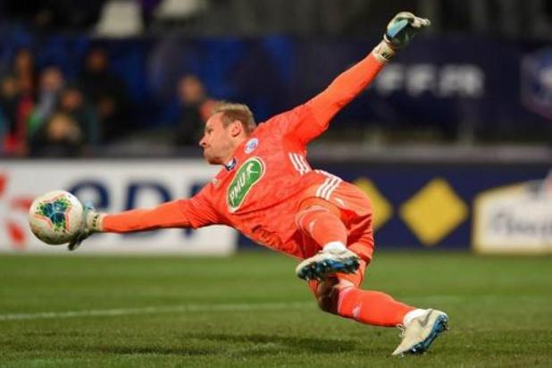 Belgen in het buitenland - Matz Sels wint met Straatsburg van Monaco