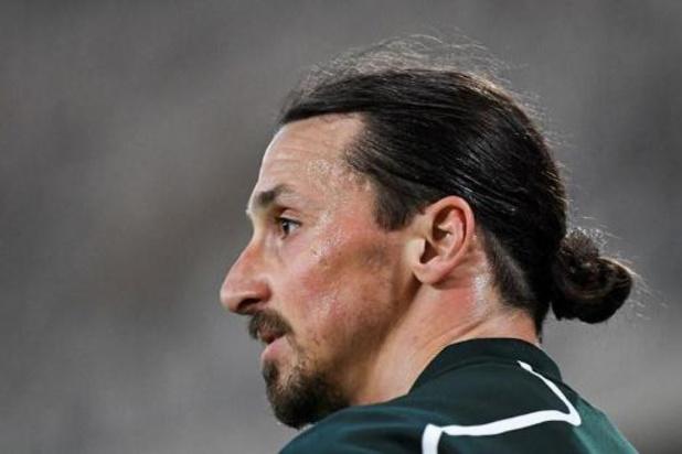 Vrees om zware achillespeesblessure Ibrahimovic (AC Milan) blijkt ongegrond