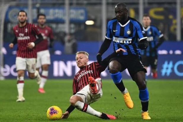 Belgen in het buitenland - Inter neemt leidersplaats in Serie A over na zege in Derby della Madonnina