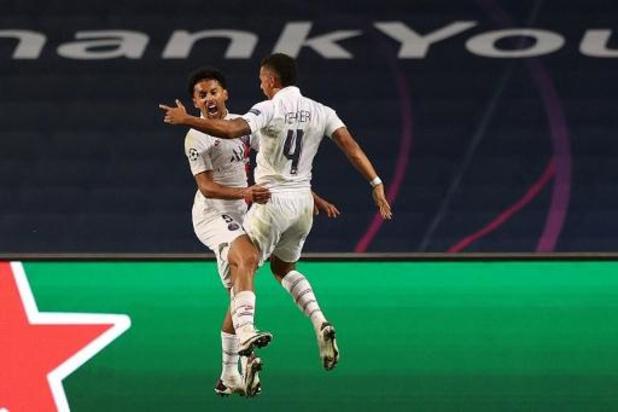 Ligue des champions - Le PSG décroche le premier billet pour les demi-finales en battant l'Atalanta Bergame 2-1