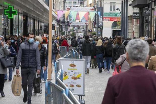 Brusselse besmettingscijfers stabiliseren zich op hoog niveau