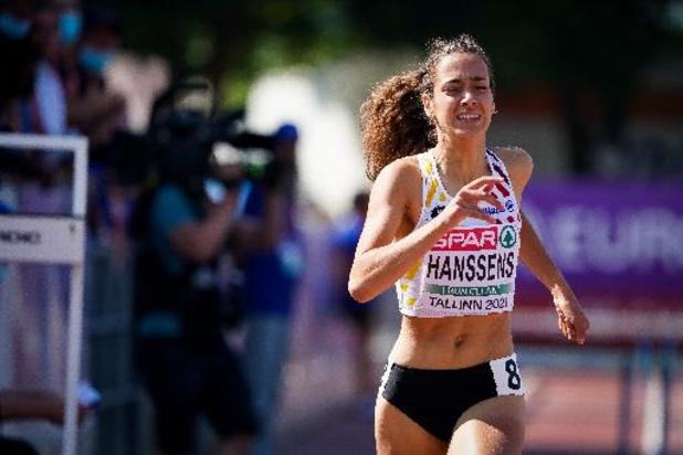 Annelies Nijssen en demi-finales du 800 m, Ilana Hanssens éliminée en séries du 400 haies