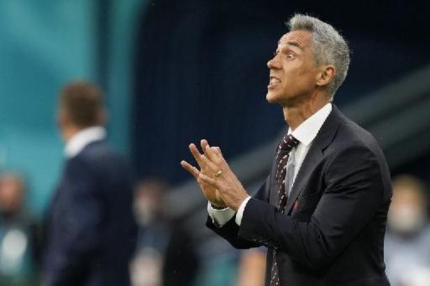 EK 2020 - Poolse bondscoach Sousa teleurgesteld na verlies tegen Slovakije, ook Lewandowski baalt