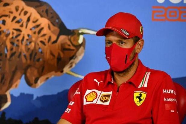 Vettel is verrast dat Ferrari zijn contract niet wil verlengen