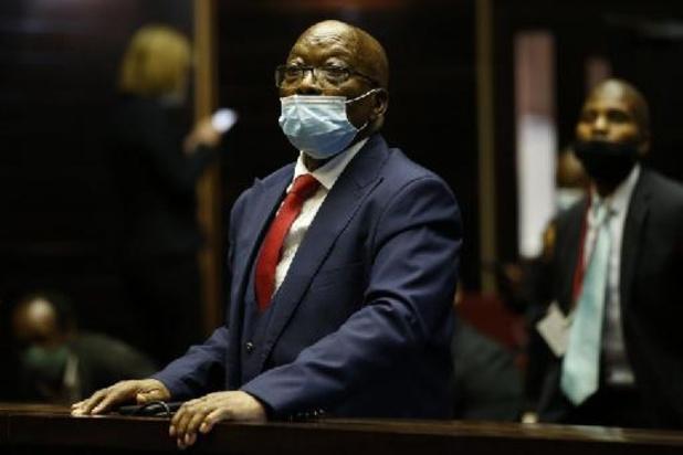 Afrique du Sud: Jacob Zuma condamné à 15 mois de prison pour outrage à la justice