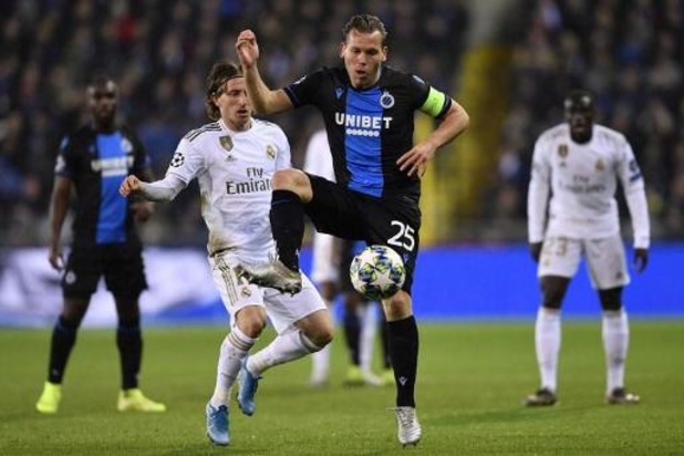 Champions League - Club Brugge overwintert in Europa League ondanks nederlaag tegen Real