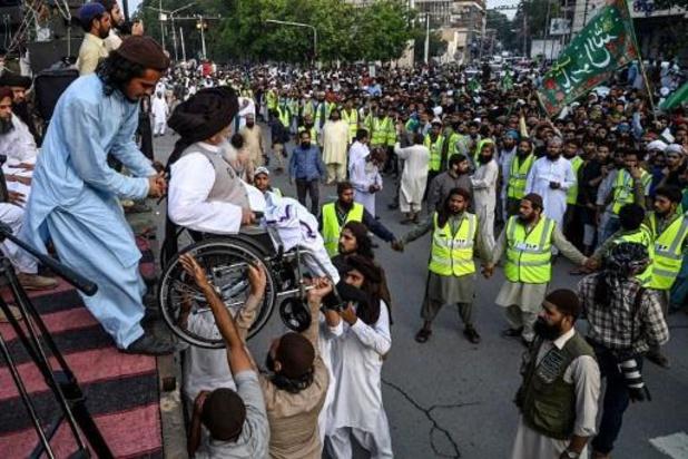 Pakistaanse islamisten zetten protest tegen Frankrijk stop
