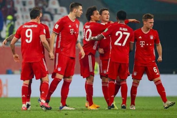 WK voor clubs - Bayern wint WK voor de tweede keer, zesde trofee op rij