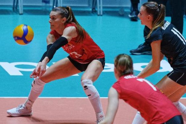 Volley féminin: la Belgique, menée de deux sets, renverse la Russie au terme d'un match haletant