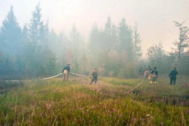 Bosbranden in Siberië veroorzaakten recorduitstoot CO2 volgens Copernicus