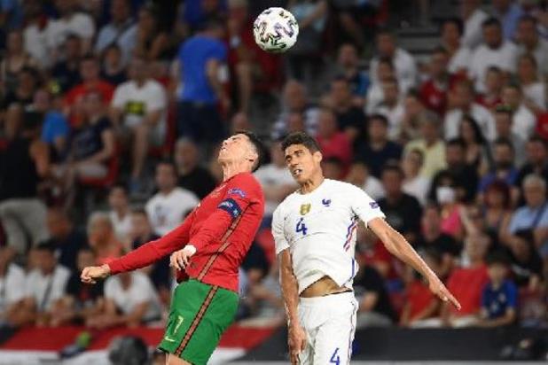 EK 2020 - Frankrijk blijft als groepswinnaar Duitsland voor, Portugal tegen Duivels