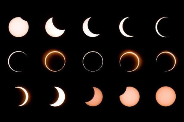 Uitzonderlijke eclips morgen te zien in Afrika en Azië