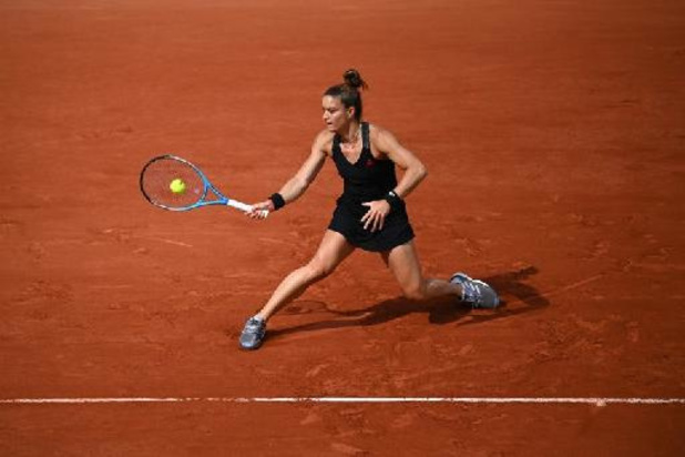 Maria Sakkari bat Sofia Kenin, finaliste sortante, et va en quarts de finale