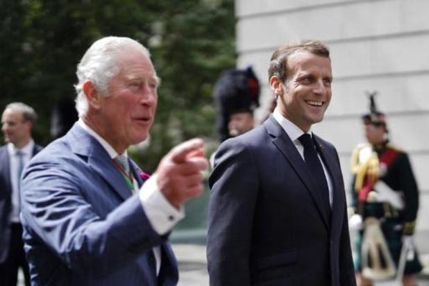 """A Londres, Macron salue le """"berceau de la France libre"""""""