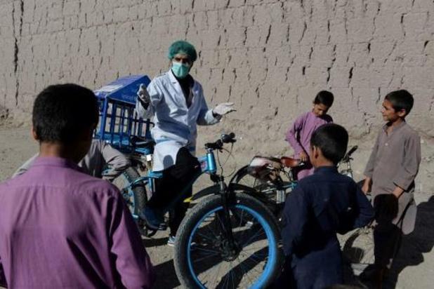 Een op de drie Afghanen besmet met corona