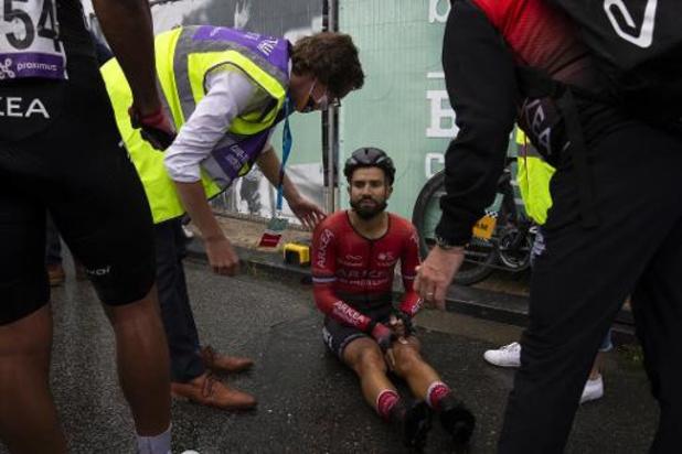 """Brussels Cycling Classic - Nacer Bouhanni, 3e, chute après l'arrivée: """"la zone d'arrivée était très dangereuse"""""""