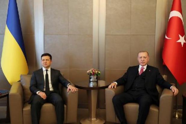 """Ukraine - Erdogan ne souhaite pas une """"hausse des tensions"""" entre l'Ukraine et la Russie"""