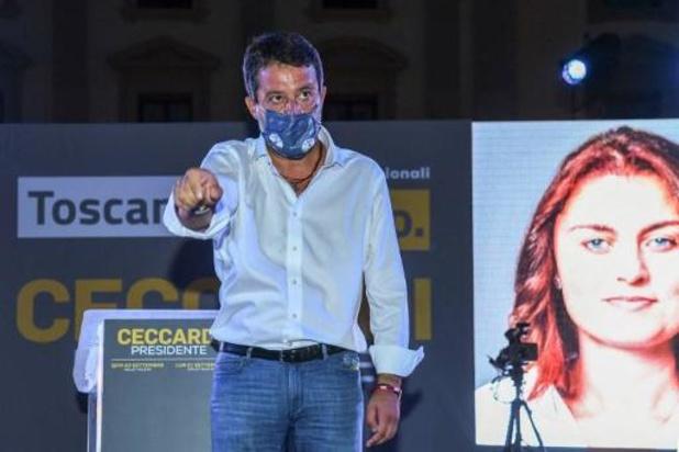 Italie: l'extrême droite et la gauche au coude-à-coude en Toscane, bastion rouge