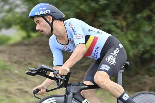 Victor Campenaerts teleurgesteld met brons op EK wielrennen: 'Brengt niets bij'