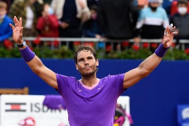 ATP Barcelona - Rafael Nadal verovert 12e titel in Barcelona