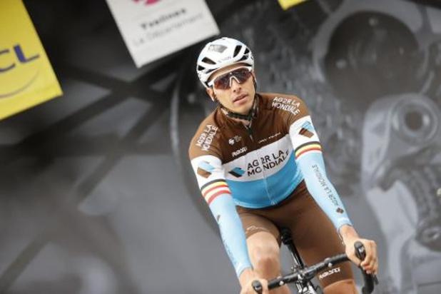 """Strade Bianche - Oliver Naesen gaf op: """"Het was te heet"""""""