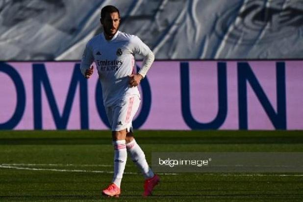 Eden Hazard absent à l'entraînement avec le Real à la veille de défier l'Atalanta