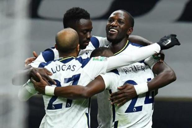 League Cup - Tottenham plaatst zich als eerste voor de finale