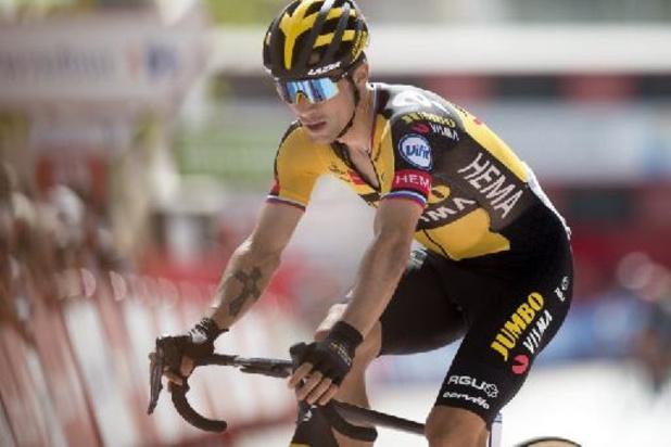 Tour d'Espagne: Primoz Roglic gagne en solitaire aux Lacs de Covadonga et reprend le maillot rouge