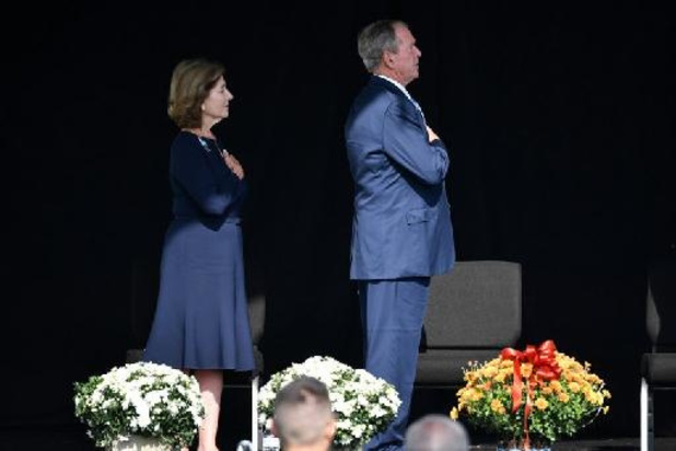 George W. Bush: '11 september was een dag van gemengde gevoelens'