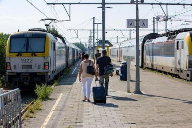 Treinen goed voor 6,6 miljard personenkilometer in 2019