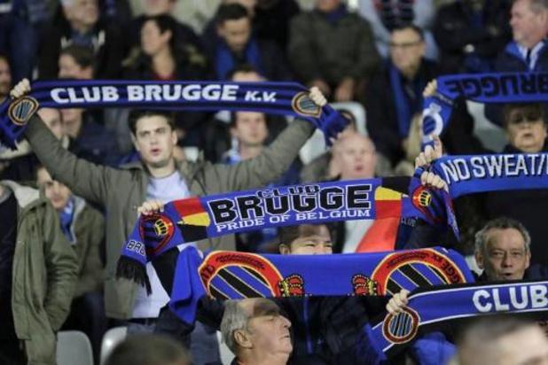 """Le Club Bruges a vendu tous ses abonnements en """"un temps record"""""""