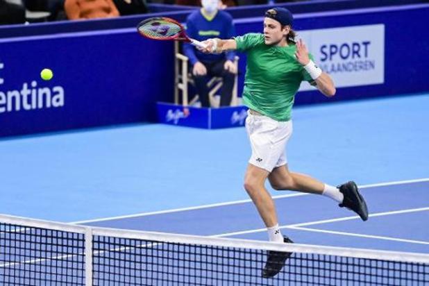 European Open - Zizou Bergs mène la vie dure à Khachanov, mais s'incline en trois sets