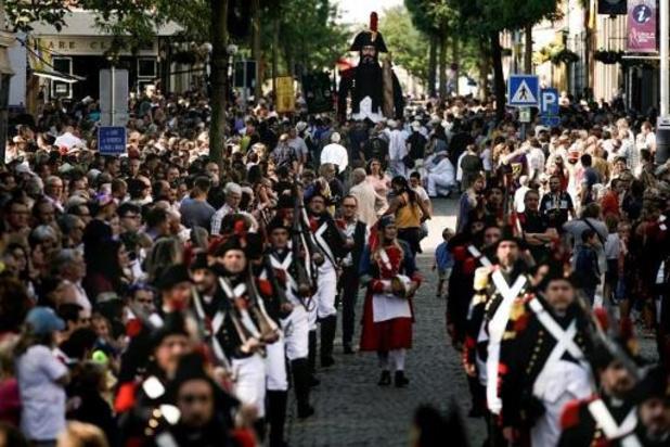 La Ducasse d'Ath ne sera pas organisée cette année